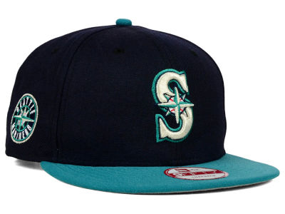 Seattle Mariners New Era MLB 2 Tone Link 9FIFTY Snapback Cap