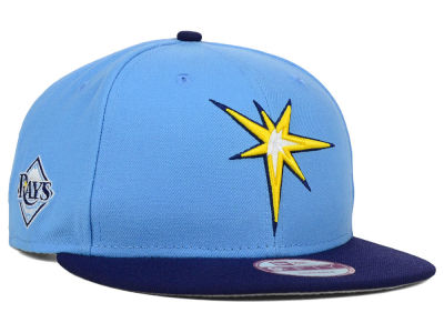Tampa Bay Rays New Era MLB 2 Tone Link 9FIFTY Snapback Cap