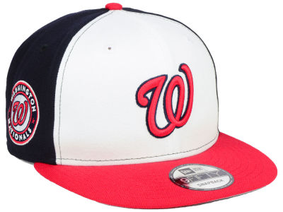 Washington Nationals New Era MLB 2 Tone Link 9FIFTY Snapback Cap