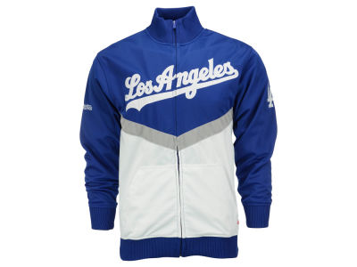 Los Angeles Dodgers MLB Men's 2-Tone Tape Track Jacket