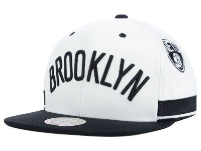 Brooklyn Nets Mitchell and Ness NBA Game Day Snapback Cap