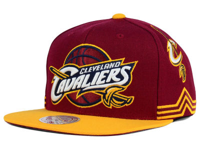 Cleveland Cavaliers Mitchell and Ness NBA Game Day Snapback Cap