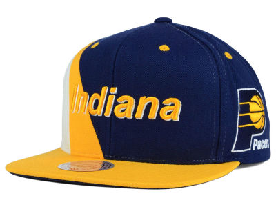Indiana Pacers Mitchell and Ness NBA Game Day Snapback Cap