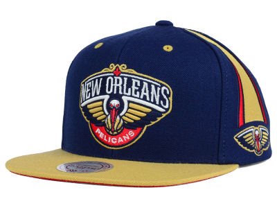 New Orleans Pelicans Mitchell and Ness NBA Game Day Snapback Cap
