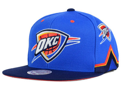 Oklahoma City Thunder Mitchell and Ness NBA Game Day Snapback Cap