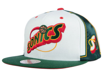 Seattle SuperSonics Mitchell and Ness NBA Game Day Snapback Cap