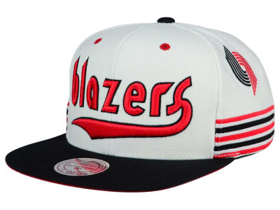 Portland Trail Blazers Mitchell and Ness NBA Game Day Snapback Cap