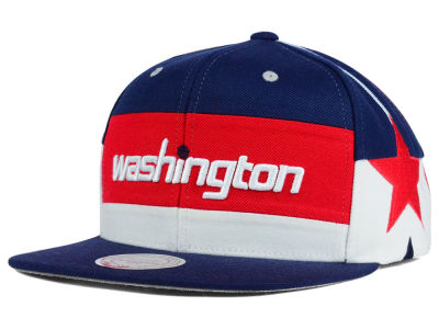 Washington Wizards Mitchell and Ness NBA Game Day Snapback Cap