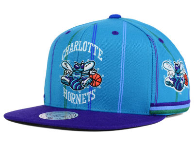 Charlotte Hornets Mitchell and Ness NBA Game Day Snapback Cap