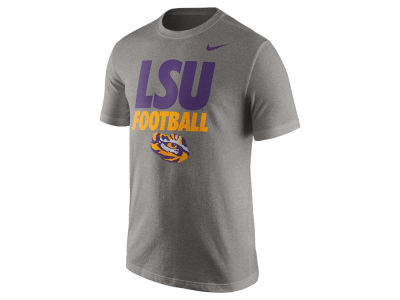 LSU Tigers Nike NCAA Men's Football Cotton Practice T-Shirt