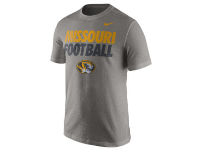 Missouri Tigers Nike NCAA Men's Football Cotton Practice T-Shirt