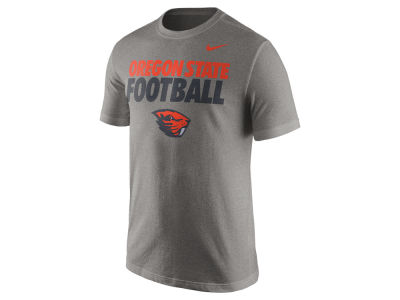 Oregon State Beavers Nike NCAA Men's Football Cotton Practice T-Shirt