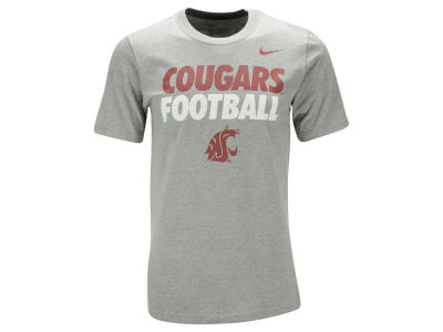 Washington State Cougars Nike NCAA Men's Football Cotton Practice T-Shirt