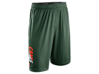 Miami Hurricanes Nike NCAA Men's Practice Fly Shorts