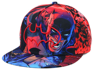 Batman DC Comics All Over Snapback Hat