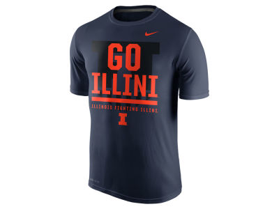 Illinois Fighting Illini Nike NCAA Men's Legend Local Verbiage T-Shirt
