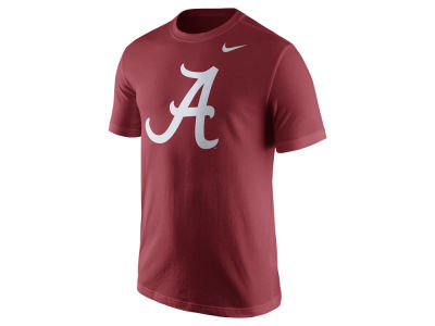 Alabama Crimson Tide Nike NCAA Men's Cotton Logo T-Shirt