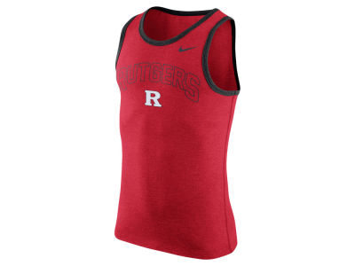 Rutgers Scarlet Knights Nike NCAA Men's Cotton Arch Tank