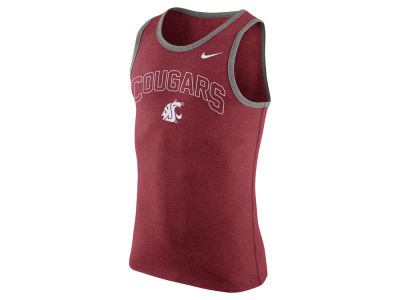 Washington State Cougars Nike NCAA Men's Cotton Arch Tank