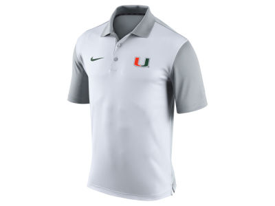 Miami Hurricanes Nike NCAA Men's 2015 Preseason Polo Shirt