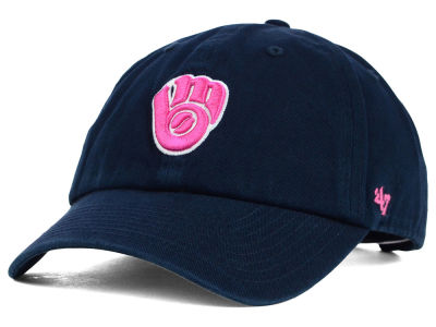 Milwaukee Brewers '47 MLB Womens Clean Up Cap