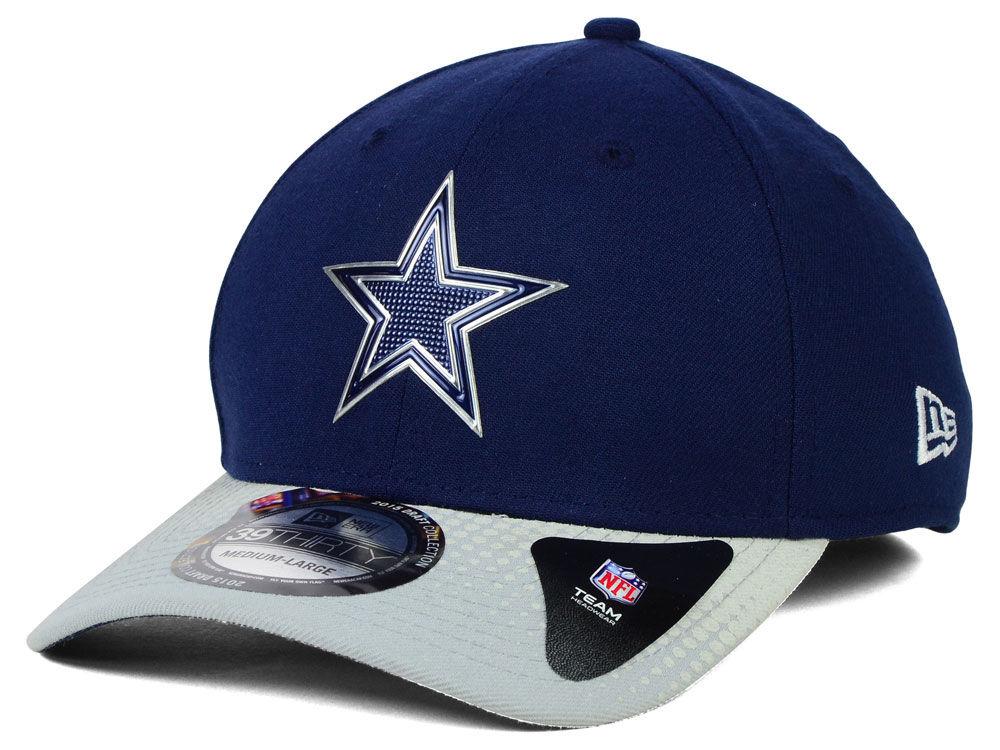 Dallas Cowboys New Era 2015 NFL Draft 39THIRTY Cap  d77d79e95b0
