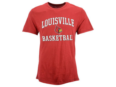 Louisville Cardinals Blue 84 NCAA Men's Banner Slub T-Shirt