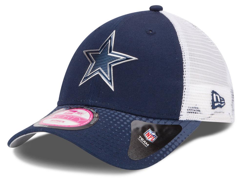Dallas Cowboys New Era NFL 2015 Women s Draft 9FORTY Cap  bd44639ec1f