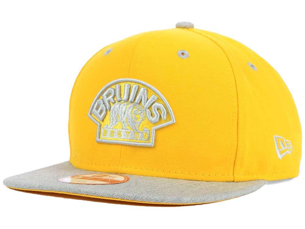 1fb13ecc29c ... norway boston bruins new era nhl team color pop heather 9fifty snapback  cap 96625 9ce69