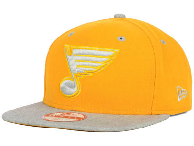 St. Louis Blues New Era NHL Team Color Pop Heather 9FIFTY Snapback Cap