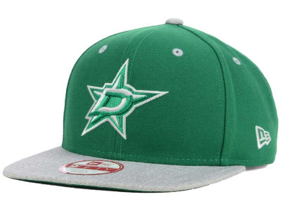 Dallas Stars New Era NHL Team Color Pop Heather 9FIFTY Snapback Cap