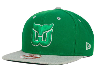 Hartford Whalers New Era NHL Team Color Pop Heather 9FIFTY Snapback Cap