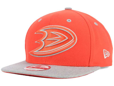 Anaheim Ducks New Era NHL Team Color Pop Heather 9FIFTY Snapback Cap