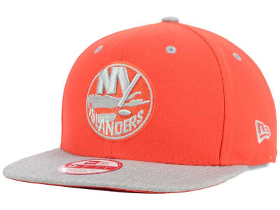 New York Islanders New Era NHL Team Color Pop Heather 9FIFTY Snapback Cap