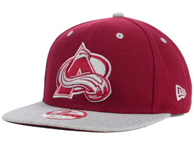 Colorado Avalanche New Era NHL Team Color Pop Heather 9FIFTY Snapback Cap
