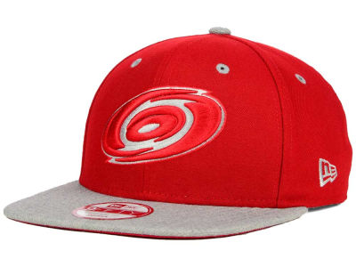 Carolina Hurricanes New Era NHL Team Color Pop Heather 9FIFTY Snapback Cap