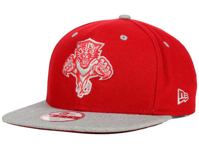 Florida Panthers New Era NHL Team Color Pop Heather 9FIFTY Snapback Cap