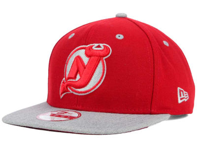 New Jersey Devils New Era NHL Team Color Pop Heather 9FIFTY Snapback Cap