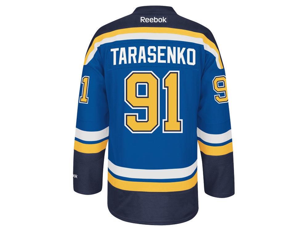 St. Louis Blues Vladimir Tarasenko Reebok NHL Men s Premier Player Jersey  6c63ff732