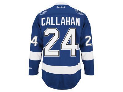Tampa Bay Lightning Ryan Callahan Reebok NHL Premier Player Jersey