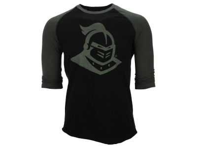 University of Central Florida Knights NCAA Men's Soft Slub 3/4 Raglan T-Shirt