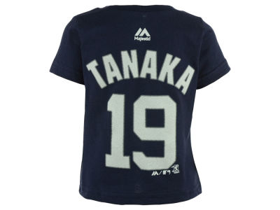 New York Yankees Masahiro Tanaka Majestic MLB Infant Official Player T-Shirt