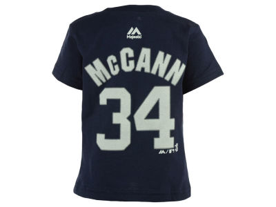 New York Yankees Brian McCann MLB Infant Official Player T-Shirt