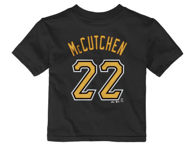 Pittsburgh Pirates Andrew McCutchen Majestic MLB Infant Official Player T-Shirt