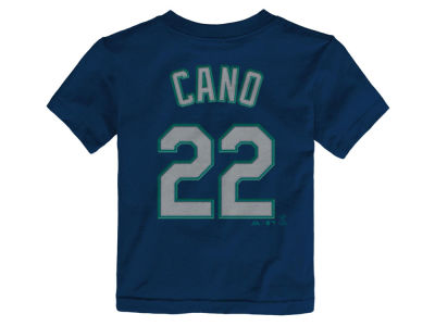 Seattle Mariners Robinson Cano Majestic MLB Infant Official Player T-Shirt