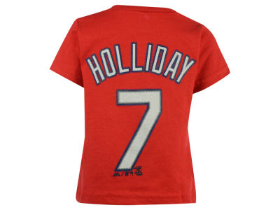 St. Louis Cardinals Matt Holliday Majestic MLB Infant Official Player T-Shirt
