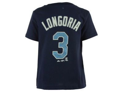 Tampa Bay Rays Evan Longoria Majestic MLB Infant Official Player T-Shirt