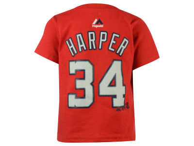 Washington Nationals Bryce Harper Majestic MLB Infant Official Player T-Shirt