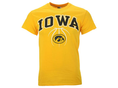 Iowa Hawkeyes NCAA Men's Seamless Basketball T-Shirt