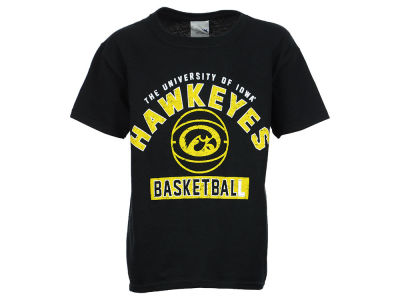 Iowa Hawkeyes NCAA Youth Drafted Basketball T-Shirt